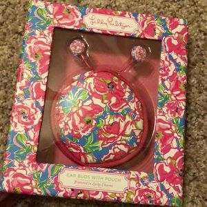 "NWT Ear Buds with pouch in ""Lucky Charms"""
